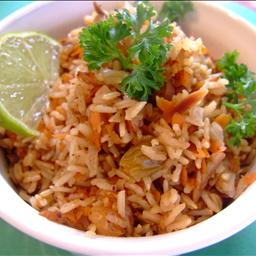 Carrot Rice Vegan