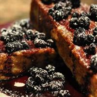 Cinnamon French Toast with Berry Sauce